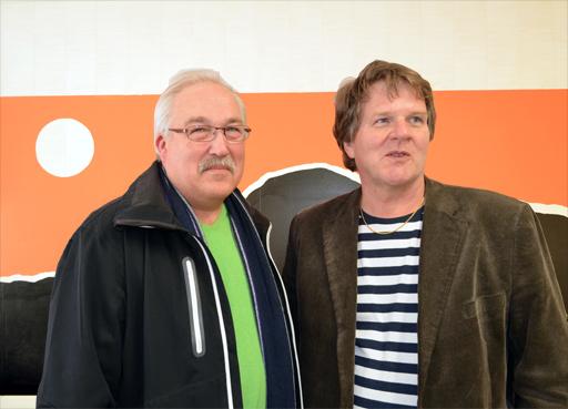 Gunnar Johansson och Jörgen Reinklou. Foto © Anders Byström http://suzanders.se