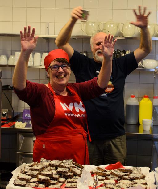 Arbetsledarna Monica Johansson och PeO Moberg. Foto © Anders Byström på http://smartfix.se