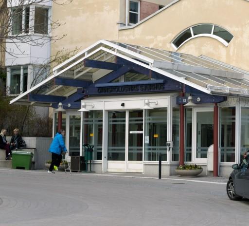 Örnsköldsviks sjukhus. Foto © Anders Byström på http://smartfix.se