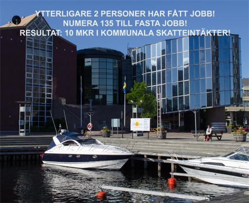 Örnsköldsviks hamn och Arken. Foto © Anders Byström på http://smartfix.se