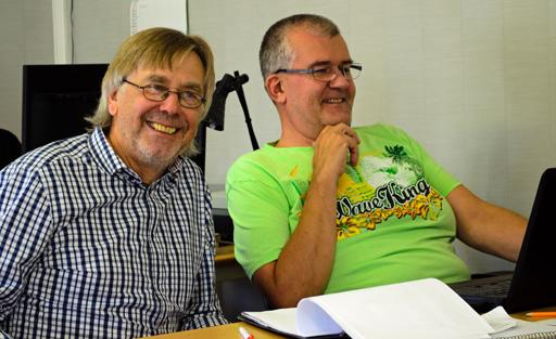 Griggus Per Norberg och Lars-Åke Åkerlund. Foto © Anders Byström på http://smartfix.se